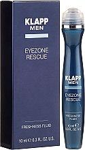 Voňavky, Parfémy, kozmetika Fluid na viečka - Klapp Men Eyezone Rescue Freshness Fluid