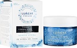 Voňavky, Parfémy, kozmetika Hydratačná a regeneračnákyslíková maska na tvár - Lumene Nordic Hydra 72H Gel Mask