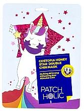 Voňavky, Parfémy, kozmetika Maska pre oblasť brady - Patch Holic Costopia Honey Star Double Chin Mask