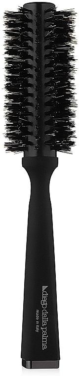 Drevená kefa na vyrovnávanie vlasov - Diego Dalla Palma Thermal Brush Straight-Wavy M — Obrázky N1