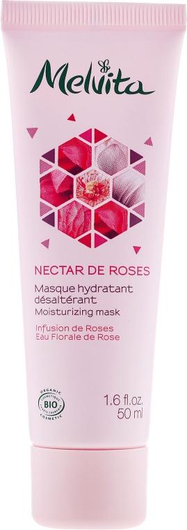 """Hydratačná maska na tvár """"Ružový nektár"""" - Melvita Nectar De Rose Moisturizing Mask — Obrázky N1"""