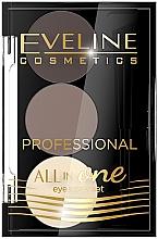 Voňavky, Parfémy, kozmetika Sada pre make-up a styling obočia - Eveline Cosmetics All In One Eyebrow Styling Set