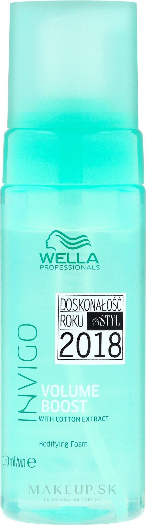 Pena na zväčšenie objemu - Wella Professionals Invigo Volume Boost Bodifying Foam — Obrázky 150 ml