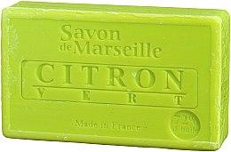 """Voňavky, Parfémy, kozmetika Prírodné mydlo """"Citrón a lime"""" - Le Chatelard 1802 Soap Lemon & Lime"""