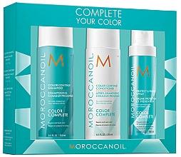 Voňavky, Parfémy, kozmetika Sada - Moroccanoil Color Complete (shmp/250ml + h/cond/250ml + h/spr/160ml)