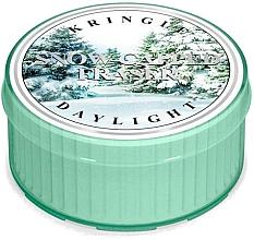 Voňavky, Parfémy, kozmetika Čajová sviečka - Kringle Candle Snow Capped Fraser Daylight