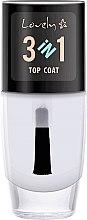 Voňavky, Parfémy, kozmetika Povrchová úprava - Lovely Top Coat 3in1