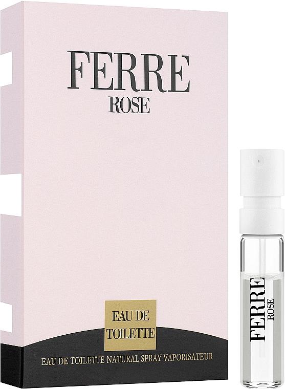 Gianfranco Ferre Ferre Rose - Toaletná voda 1,5ml (vzorka) — Obrázky N1