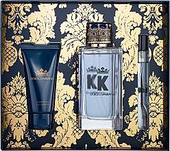 Voňavky, Parfémy, kozmetika Dolce&Gabbana K by Dolce&Gabbana - Sada (edt/100ml + sh/gel/50ml + edt/mini/10ml)