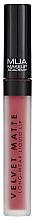 Voňavky, Parfémy, kozmetika Tekutý matný rúž na pery - MUA Academy Velvet Matte Long-Wear Liquid Lip