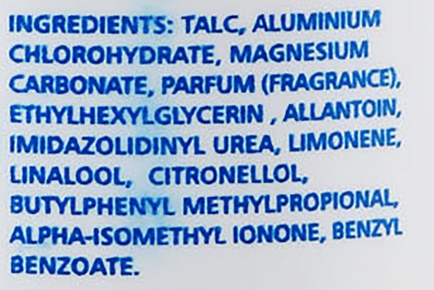 Dezodorant pre starostlivosť chodidiel - Instituto Espanol Foot Talc — Obrázky N3