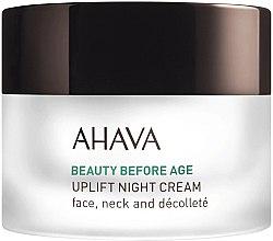 Voňavky, Parfémy, kozmetika Liftingový nočný krém širokospektrálny - Ahava Beauty Before Age Uplifting Night Cream For Face, Neck & Decollete