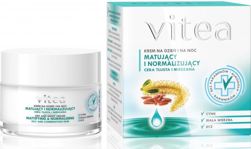 "Krém na tvár ""Zmatnenie a normalizácia"" - Vitea Mattifying And Normalising Face Cream"