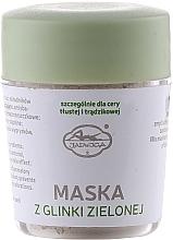 Voňavky, Parfémy, kozmetika Minerálne maska pre tvár zo zeleného ílu - Jadwiga Face Mask