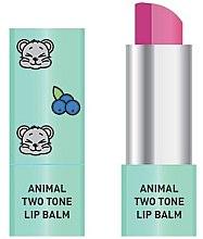 Voňavky, Parfémy, kozmetika Dvojfarebný balzam na pery - Animal Two-Tone Lip Balm