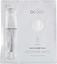 Voňavky, Parfémy, kozmetika Maska na tvár - The Oozoo Face In-Shot Mask Intensive White