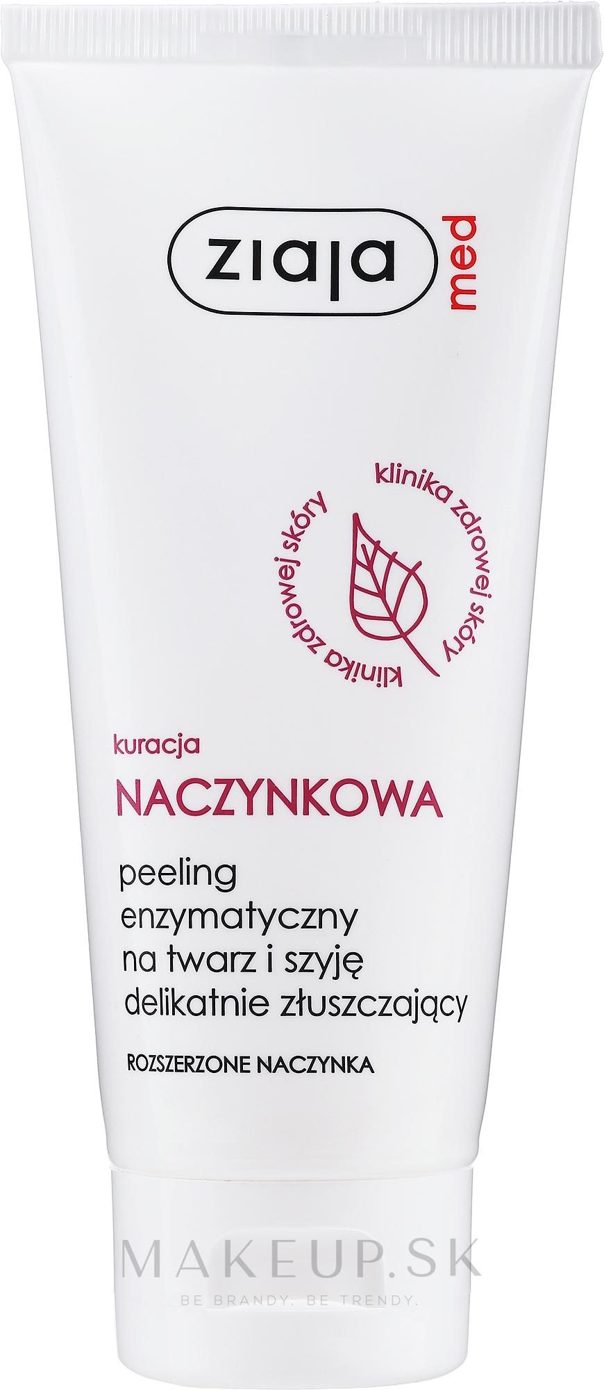 Enzymatický peeling tváre - Ziaja Med Peeling Enzymatic — Obrázky 75 ml
