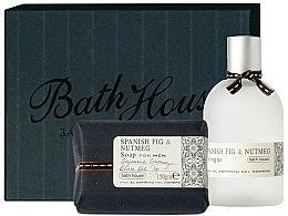 Voňavky, Parfémy, kozmetika Bath House Spanish Fig and Nutmeg - Sada (edc/100ml + soap/150g)