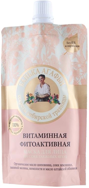 Vitamínová fytoaktívna maska zo šťavy z plodov tajgy - Recepty babičky Agafji Kúpeľňa Agafji