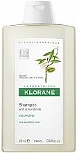 Voňavky, Parfémy, kozmetika Šampón s mandľami na zväčšenie objemu tenkých vlasov - Klorane Volumising Shampoo with Almond Milk