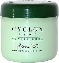 Voňavky, Parfémy, kozmetika Krém na tvár a krk, zelený čaj - Cyclax Nature Pure Green Tea Face & Neck Cream