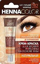 Voňavky, Parfémy, kozmetika Krém-farba na obočie a mihalnice na báze henny - Fito Kozmetic Henna Color