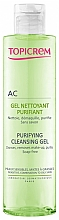 Voňavky, Parfémy, kozmetika Gél regulujúci vylučovanie mazu - Topicrem Purifying Cleansing Gel