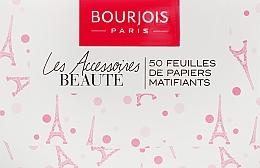 Voňavky, Parfémy, kozmetika Zmatňujúce utierky na tvár - Bourjois Mattifying Blotting Papers