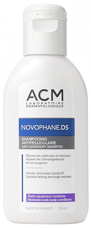 Šampón proti lupinám - ACM Laboratoire Novophane.DS Anti-Dandruff Shampoo — Obrázky N1