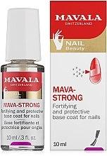Voňavky, Parfémy, kozmetika Transparentný vrchný lak na nechty - Mavala Colorfix Strong Flexible Top Coat