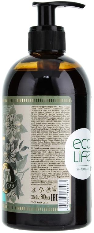 Čierne sibírske mydlo na ruky - Recepty babičky Agafy Byliny a poplatky — Obrázky N2