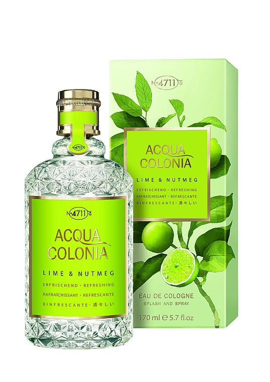 Maurer & Wirtz 4711 Aqua Colognia Lime & Nutmeg - Kolínska voda