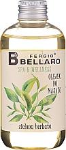 """Voňavky, Parfémy, kozmetika Masážny olej """"Zelený čaj"""" - Fergio Bellaro Massage Oil Green Tea"""