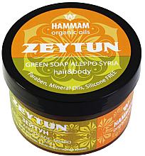 "Husté mydlo Aleppo ""Zeytun"" na vlasy a telo - Hammam Organic Oils — Obrázky N1"