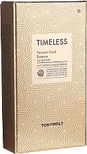 Voňavky, Parfémy, kozmetika Sada - Tony Moly Timeless Ferment Snail Essence Gift Set (essence/50ml + toner/20ml + emul/20ml)
