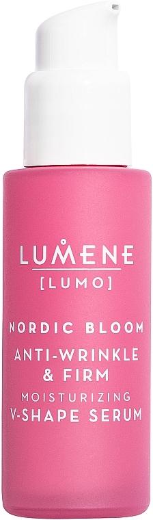 Spevňujúce a liftingové sérum na tvár - Lumene Lumo Nordic Bloom Anti-wrinkle & Firm Moisturizing V-Shape Serum