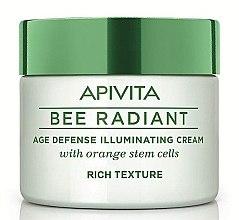 Voňavky, Parfémy, kozmetika Nasýtený krém na tvár - Apivita Bee Radiant Rich Cream