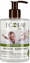 Voňavky, Parfémy, kozmetika Detské krém mydlo - ECO Laboratorie Baby Cream-Soap