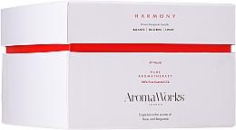 """Voňavky, Parfémy, kozmetika Vonná sviečka """"Harmónia"""" s 3 knôtmi - AromaWorks Harmony Candle 3-wick"""