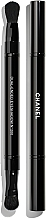 Voňavky, Parfémy, kozmetika Obojstranný štetec na očné tiene - Chanel Retractable Dual-Ended Eyeshadow Brush №200