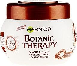 """Voňavky, Parfémy, kozmetika Maska na vlasy """"Kokosové mlieko a makadamový olej"""" - Garnier Botanic Therapy"""