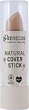 Voňavky, Parfémy, kozmetika Maskovacia ceruzka na tvár - Benecos Natural Cover Stick