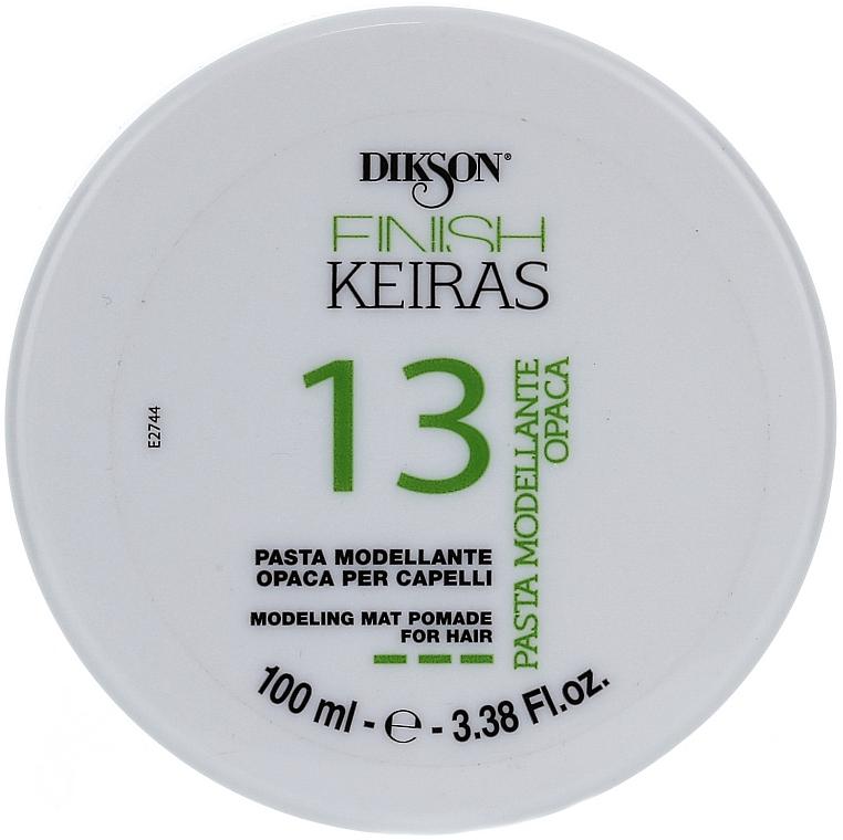 Matná pasta na modelovanie vlasov - Dikson Finish Keiras Pasta Modellante Opaca 13