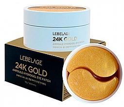 Voňavky, Parfémy, kozmetika Hydrogélové náplasti pod oči - Lebelage 24K Gold Ampoule Hydrogel Eye Patch