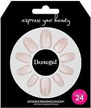Voňavky, Parfémy, kozmetika Sada umelých nechtov s lepidlom, 3058 - Donegal Express Your Beauty