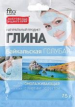 """Voňavky, Parfémy, kozmetika Omladzujúca hlinka na tvár """"Bajkal"""", modrá - Fito Kozmetic"""