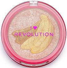 Voňavky, Parfémy, kozmetika Rozjasňovač - I Heart Revolution Fruity Highlighter Banana