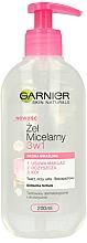 Voňavky, Parfémy, kozmetika Micelárny gél pre citlivú pokožku - Garnier Skin Naturals Cleansing Micellar Gel