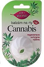 Voňavky, Parfémy, kozmetika Balzam na pery s konopným olejom a vitamínom E - Bione Cosmetics Cannabis Vitamin E
