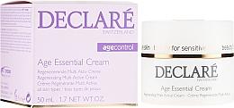 Voňavky, Parfémy, kozmetika Krém proti starnutiu na základe pivonkového extraktu - Declare Age Control Age Essential Cream